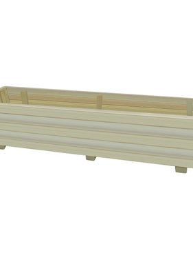 vidaXL Plantenbak 150 cm FSC geïmpregneerd grenenhout