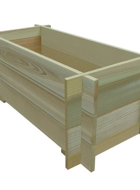 vidaXL Plantenbak 80 cm FSC geïmpregneerd grenenhout