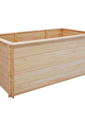 vidaXL Plantenbak 200x100x80 cm/19 mm FSC grenenhout