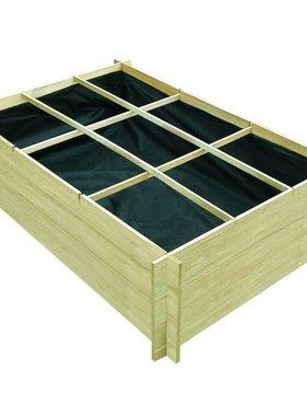 vidaXL Plantenbak 150x100x40 cm FSC-gecertificeerd hout