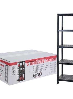 Storage solutions Opbergkast 80x40x184 cm zwart