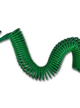 vidaXL Tuinwaterslang flexibele spiraalslang en spuitkop 15 m