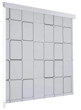 vidaXL Rolgordijn voor douche 80x240 cm vierkant