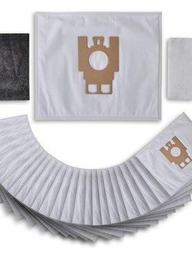 vidaXL Stofzuigerzakken + Filters Geschikt voor Miele FJM-GN (25 stuks)