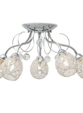 vidaXL Plafondlamp met 5 LED-gloeilampen G9 200 W