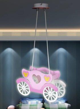 vidaXL Hanglamp Princessenkoets voor kinderslaapkamer