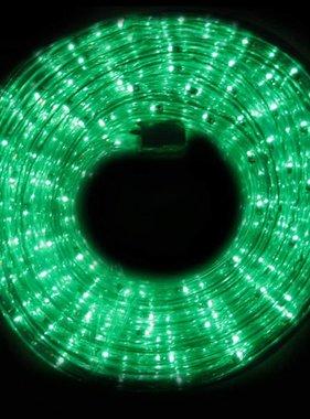 vidaXL Lichtslang 15 meter groen licht spatwaterdicht