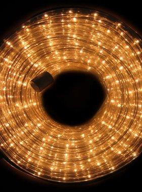 vidaXL Lichtslang 9 meter wit licht spatwaterdicht