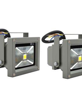 vidaXL LED Bouwlamp 10 Watt (2 stuks)