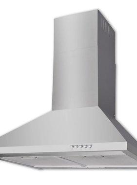 vidaXL Afzuigkap 600 mm roestvrij staal