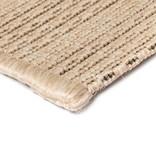 vidaXL Vloerkleed binnen/buiten 140x200 cm sisal look beige