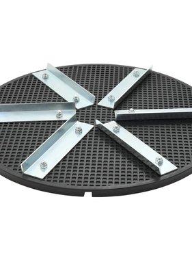vidaXL Vlinderschijf 39 cm kunststof ijzer