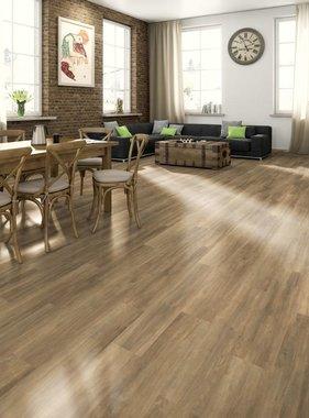 Egger Laminaat vloerplanken 79,36 m² 7 mm Brown Ampara Oak