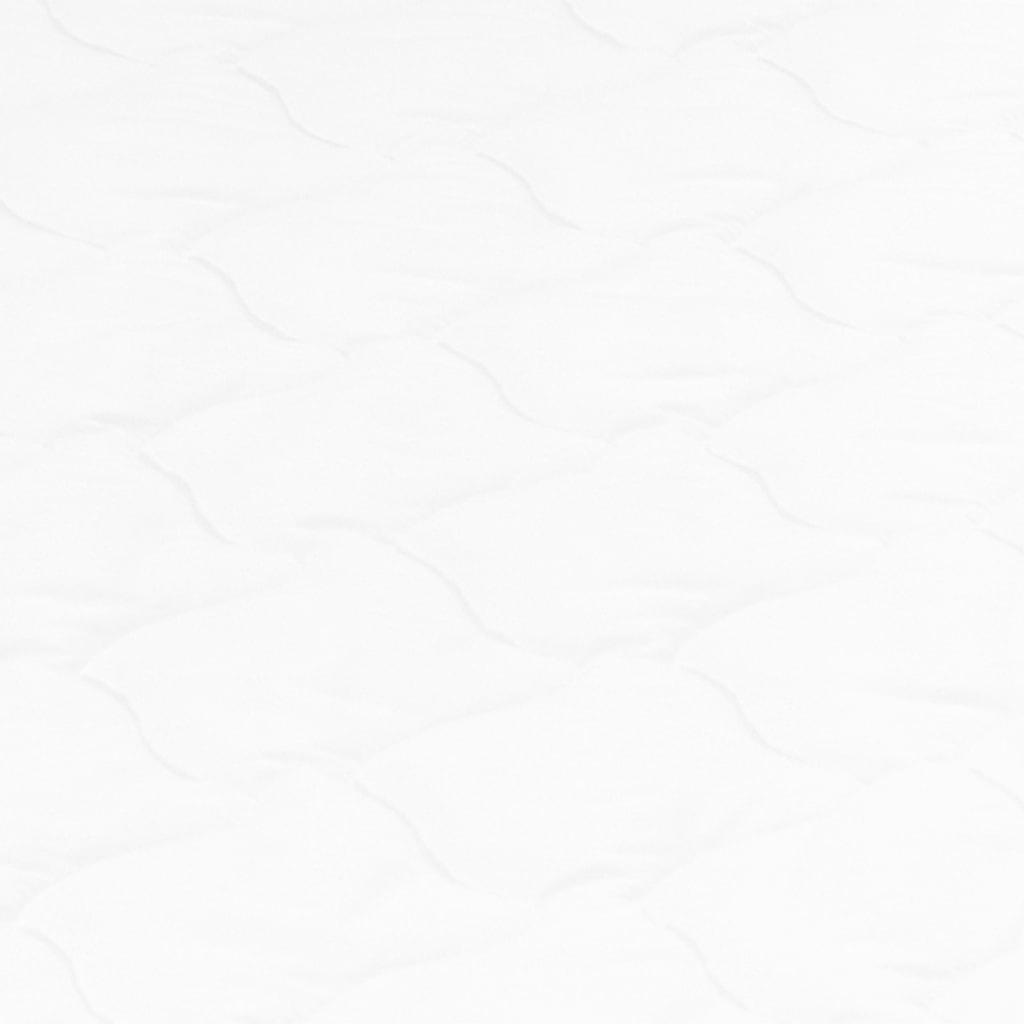 vidaXL Dekmatras ei-profiel 6 cm koudschuim 90x200 cm