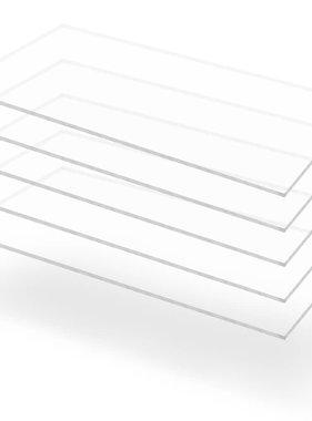 vidaXL Acrylplaten 600x1200x6 mm transparant 5 st