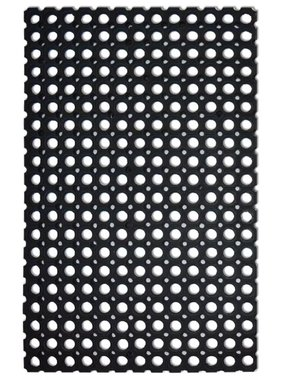 vidaXL Rubber mat 22 mm 100x150 cm