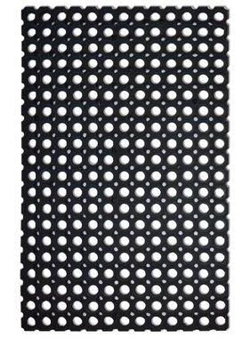 vidaXL Rubber mat 22 mm 80x120 cm