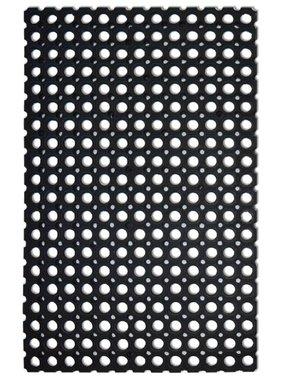 vidaXL Rubber matten 2 stuks 22 mm 50 x 80 cm