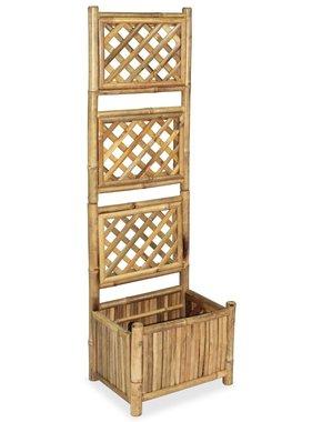 vidaXL Plantenbak met rek 40 cm bamboe