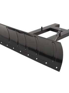 vidaXL Sneeuwploeg voor heftruck 150x38 cm zwart