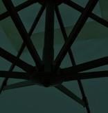 vidaXL Zweefparasol veriakant 2,5x2,5 m aluminium groen