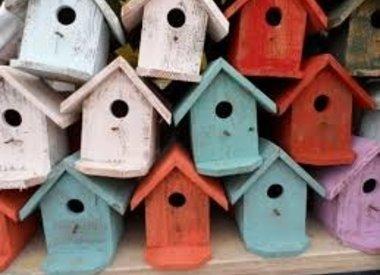 Vogel- en dierenhuizen
