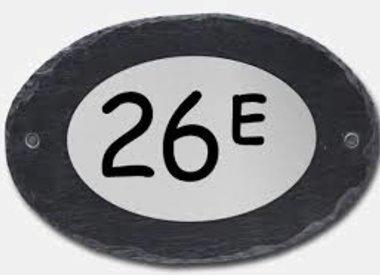 Huisnummers en -letters