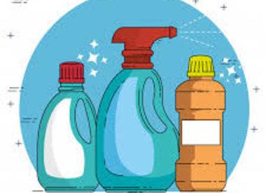 Schoonmaakproducten voor het huishouden