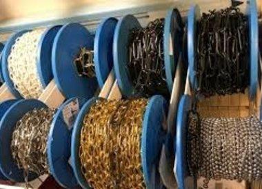 Ketting, draad en touw