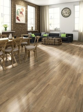 Egger Laminaat vloerplanken 59,52 m² 7 mm Brown Ampara Oak