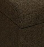 vidaXL Slaapbank uittrekbaar 3-zits bruin