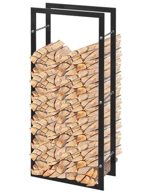 vidaXL Brandhoutrek rechthoekig 100 cm