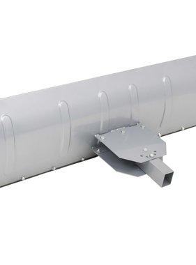 vidaXL Sneeuwploeg voor ATV 150x44 cm zilver