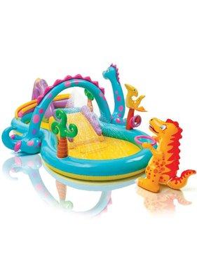 Intex Dinoland Play Center Zwembad opblaasbaar 333x229x112 cm 57135NP