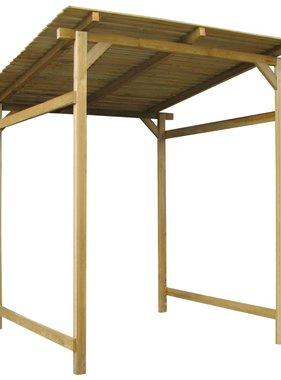 vidaXL Overkapping 170x200x200 cm FSC geïmpregneerd grenenhout