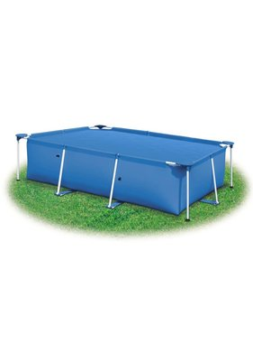 vidaXL Zwembadhoes 400x200 cm PE blauw