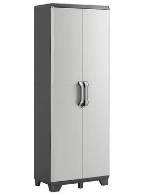 Keter Keter Werkkast Gear 68x39x182 cm zwart en grijs