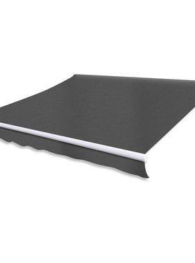 vidaXL Luifel handmatig uitschuifbaar 300 cm antraciet
