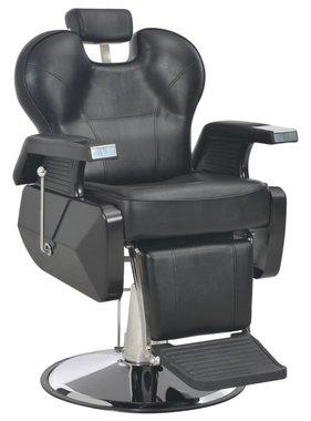 vidaXL Kappersstoel 72x68x98 cm kunstleer zwart