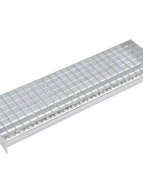 vidaXL Traptreden 4 st 800x240 mm geperst gegalvaniseerd staal