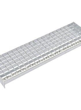 vidaXL Traptreden 4 st 700x240 mm gesmeedlast gegalvaniseerd staal