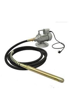 vidaXL Betontrilnaald met slang 6 m 220 V 50 Hz 1500 W