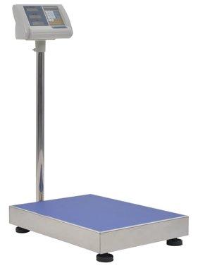 vidaXL Digitale platformweegschaal met oplaadbare batterij 300 kg