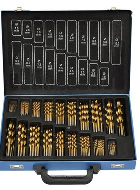 vidaXL HSS titanium spiraal boorset 170-delig