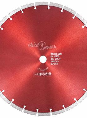 vidaXL Diamantzaagblad 350 mm staal