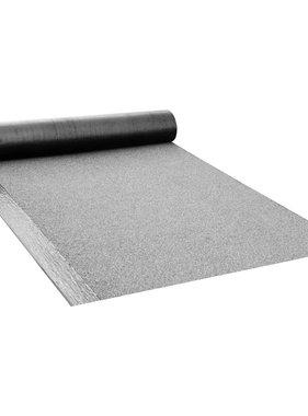 vidaXL Dakpapier met lasnaad V60 S4 1 rol 5 ㎡ bitumen grijs