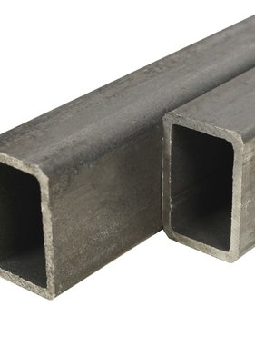 vidaXL Kokerbuizen rechthoekig 1m 60x30x2mm constructiestaal 2 st