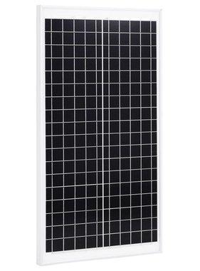 vidaXL Zonnepaneel 30 W aluminium en veiligheidsglas