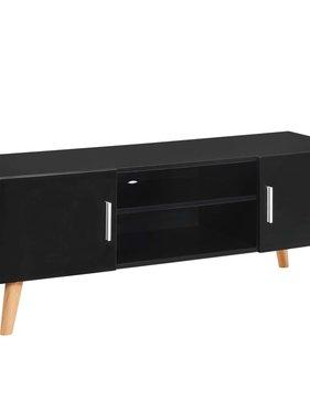 vidaXL Tv-meubel 120x40x46 cm MDF zwart