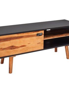 vidaXL Tv-meubel massief acaciahout 120x35x50 cm